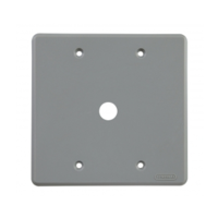 Placa 4x4 c/furo 13mm